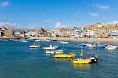 St Ives Cornwall England het UK Stock Afbeelding