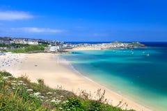 St Ives Cornwall England R-U photos libres de droits