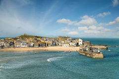 St Ives in Cornwall Stock Photo