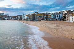 St Ives Cornwall Sunset Royalty Free Stock Photos