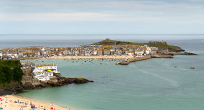 St. Ives em Cornualha fotos de stock royalty free