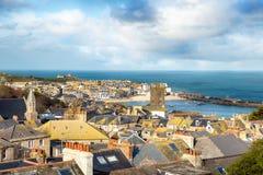 St Ives em Cornualha Fotos de Stock Royalty Free
