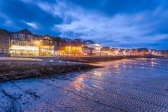 St Ives en la noche Cornualles Inglaterra fotografía de archivo libre de regalías