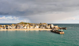 St Ives harbour in Cornwall UK Stock Images