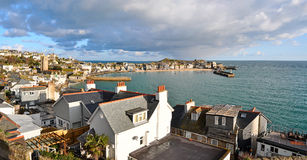 St Ives Harbour Cornwall UK Royalty Free Stock Photo
