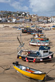 St Ives harbor at low tide Royalty Free Stock Image