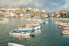St Ives harbor. Stock Images