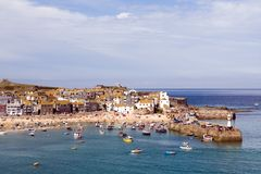 St Ives Harbour Royalty Free Stock Photo