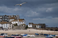 Free St Ives Harbour At Low Tide Stock Image - 10318441