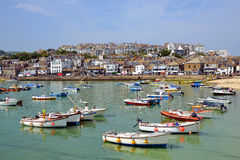 St Ives harbour. Cornwall England UK Royalty Free Stock Images