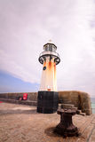 St Ives Harbour Lighthouse Fotografia Stock Libera da Diritti