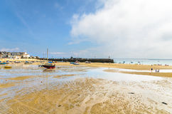 St Ives Harbour Royalty Free Stock Photos