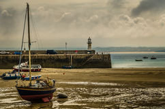St Ives Harbour Stock Photos