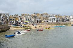 St Ives haven, Cornwall Royalty-vrije Stock Fotografie