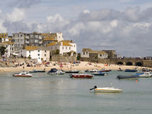 St. Ives holiday resort Cornwall Royalty Free Stock Photography