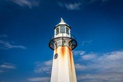 St. Ives lighthouse close up Stock Photo