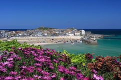 St Ives from the Malakoff Royalty Free Stock Photos