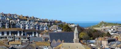 St Ives miasteczko Zdjęcie Royalty Free