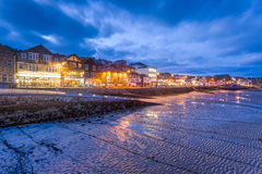 St Ives at Night Cornwall England Royalty Free Stock Photography