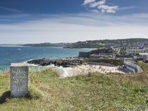 St Ives Porthmeor Beach Cornwall England Stock Photography
