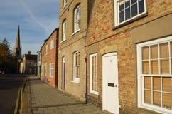 St Ives Street Cambridgeshire Stock Image