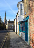 St Ives Street Cambridgeshire stock photos