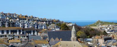 St Ives Town Royalty Free Stock Photo