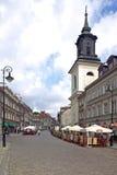 St. Jacek Church in Warschau Stockbild