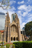 St.jack cathedral in brisbane,australia Royalty Free Stock Image