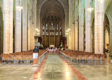 St.jack cathedral in brisbane,australia Royalty Free Stock Image