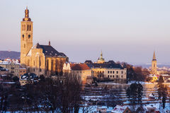 St. Jacob Church in Kutna Hora Royalty Free Stock Images