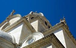 St. Jacob Kathedraal, Sibenik, Kroatië Stock Afbeelding