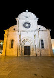 St. Jacob's Cathedral in Sibenik Stock Photos