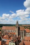 St. jacob's church in rothenburg ob der tauber Stock Images