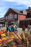 St. Jacobs - Farmers Market Main Entrance Stock Images