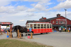 St. Jacobs - Farmers Market and Tours Stock Photography