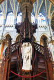St Jacobs Pulpit Immagine Stock