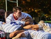 2009 21st jako balowego Dorset puszka wschodniego eastleigh Luty zapałczana kontrowania paczka stawiają rugby młynu drużyny dwa u Obrazy Royalty Free