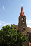 St. Jakob Church in Nuremberg. The St. Jakob (James) Church in Nuremberg, Bavaria, Germany Royalty Free Stock Image