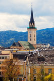 St. Jakob Church in Villach. Saint Jakob Church in Villach. Villach, Carinthia, Austria Stock Image