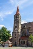 ST Jakobskirche (εκκλησία του ST James) στη Νυρεμβέργη, Γερμανία, 2015 Στοκ εικόνες με δικαίωμα ελεύθερης χρήσης