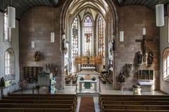 ST Jakobskirche (εκκλησία του ST James) στη Νυρεμβέργη, Γερμανία, 2015 Στοκ φωτογραφία με δικαίωμα ελεύθερης χρήσης