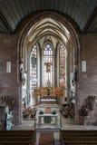 ST Jakobskirche (εκκλησία του ST James) στη Νυρεμβέργη, Γερμανία, 2015 Στοκ φωτογραφίες με δικαίωμα ελεύθερης χρήσης