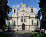 ST James η εκκλησία Czestochowa αποστόλων Στοκ φωτογραφία με δικαίωμα ελεύθερης χρήσης