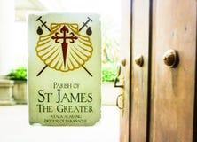 ST James ο μεγαλύτερος Στοκ Εικόνες