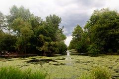 Парк St James озера, Лондон, Англия, Великобритания Стоковые Изображения