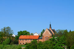 St. James the Apostle Church in Sandomierz Royalty Free Stock Photos