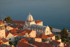 St. James Basilica in Sibenik Royalty Free Stock Image