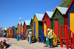 St James Beach. Cape Town Royalty Free Stock Photo