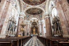 St James Cathedral, Innsbruck Fotografie Stock